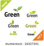 green leaf set vol5 | Shutterstock .eps vector #26327341