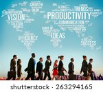 productivity vision idea...   Shutterstock . vector #263294165