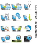 computer icons | Shutterstock .eps vector #26331494