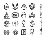 Basic Easter Icons