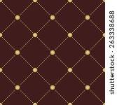 geometric modern  seamless... | Shutterstock . vector #263338688