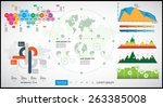 infographic vector illustration.... | Shutterstock .eps vector #263385008