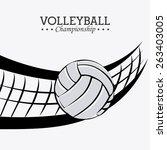 sport design over white...   Shutterstock .eps vector #263403005