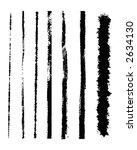 grunge brushes for framing and... | Shutterstock .eps vector #2634130