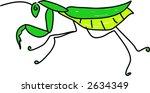 mantis | Shutterstock .eps vector #2634349