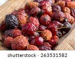 Dried Rose Hip Berries