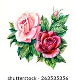 Two Pink Roses. Pattern From...