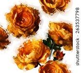 Art Vintage Floral Seamless...