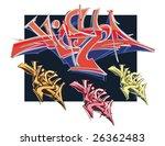 graffiti set | Shutterstock .eps vector #26362483