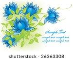 floral background   Shutterstock .eps vector #26363308
