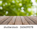floor of wood texture and out... | Shutterstock . vector #263639378