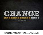 change | Shutterstock . vector #263649368
