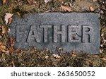 Grave Marker Or Headstone In...
