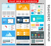 3 business web ui layout...