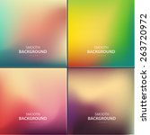 abstract colorful vector... | Shutterstock .eps vector #263720972