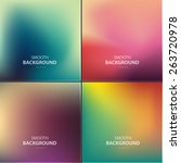 abstract colorful vector... | Shutterstock .eps vector #263720978