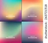 abstract colorful vector... | Shutterstock .eps vector #263721518