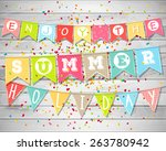 summer holidays and vacation.... | Shutterstock .eps vector #263780942