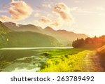 norway landscapes | Shutterstock . vector #263789492