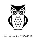 Stock vector cute vector owl 263844512
