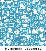 sport icons | Shutterstock .eps vector #263888552