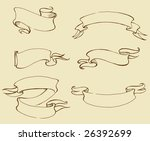 variants of banners | Shutterstock . vector #26392699