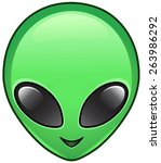 Alien Face Icon