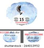 wedding  bridal shower...   Shutterstock .eps vector #264013952