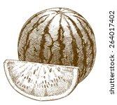 vector engraving  illustration...   Shutterstock .eps vector #264017402