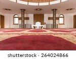 african muslim man making... | Shutterstock . vector #264024866