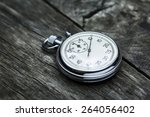 steel stopwatch | Shutterstock . vector #264056402
