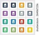 very useful flat icon of sim...