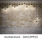 Banner On Wooden Wall  With...