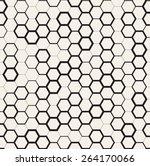 vector seamless pattern. modern ... | Shutterstock .eps vector #264170066