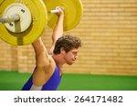 A Weight Lifter Lifting Weight...