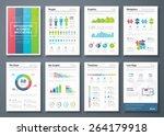 vector graphics in infographic... | Shutterstock .eps vector #264179918
