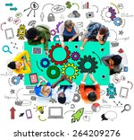 strategy functionality business ... | Shutterstock . vector #264209276