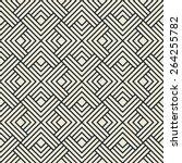 geometric vector pattern of... | Shutterstock .eps vector #264255782