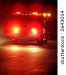 Speeding Fire Truck With...