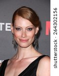 Small photo of LOS ANGELES - MAR 25: Alyssa Sutherland at the Mad Men Black & Red Gala at the Dorthy Chandler Pavillion on March 25, 2015 in Los Angeles, CA