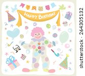 birthday | Shutterstock .eps vector #264305132