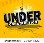 background of under... | Shutterstock .eps vector #264347522