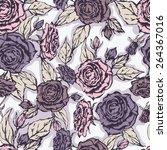seamless floral pattern....   Shutterstock .eps vector #264367016