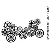 pattern with sprockets | Shutterstock .eps vector #26441254