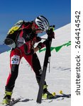 etna ski alp   world... | Shutterstock . vector #264414542