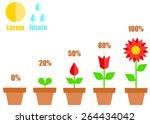 Illustration Of Flowerpot With...