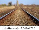 Scenic Railroad In Spring In...