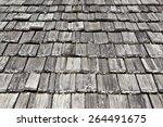 Wooden Shingle Rooftop