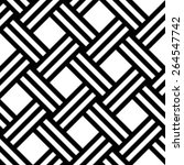 seamless pattern   black signs... | Shutterstock .eps vector #264547742