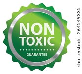 green metallic non toxic... | Shutterstock . vector #264549335